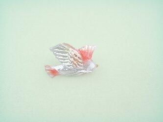 渡風花鳥のブローチ 577の画像