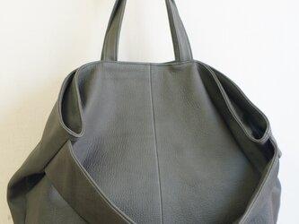 m様LUA#2WAYトート#gray-soft leatherの画像