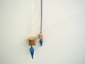 さかさまの紫陽花の画像