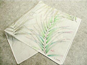 綿ハンカチ(ヤシの葉Ⅱ)の画像