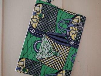 アフリカンプリント PCケース bagsの画像