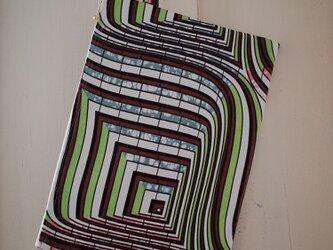 アフリカンプリント PCケース green mosaicの画像