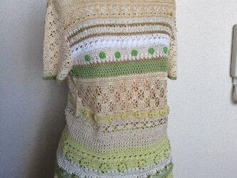 かぎ針編みのプルオーバーの画像
