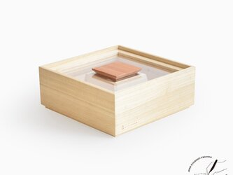 桐の米びつ 1kgの画像