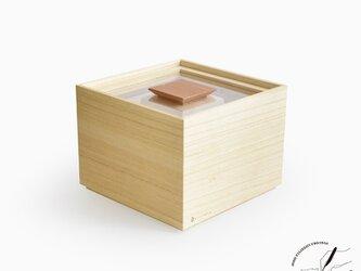 桐の米びつ 3kgの画像