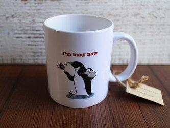 ペンギンマグカップ/子守の画像