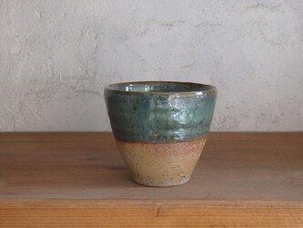 石土カップ・緑の画像