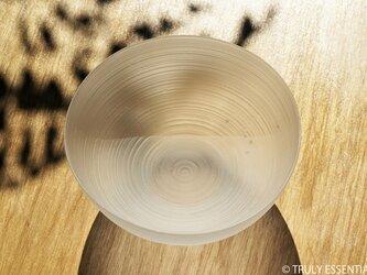 無色透明ガラスの器 -「 The Vessel of Light - 月明かりの器 」● 直径16cmの画像
