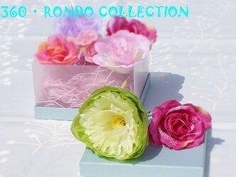 【SALE価格】髪飾りセット★「花かご(8個セット)」の画像