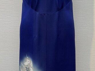 ドレス(着物リメイク)(アオザイ風)の画像