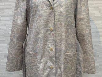 ジャケット(着物リメイク)(大島風)の画像