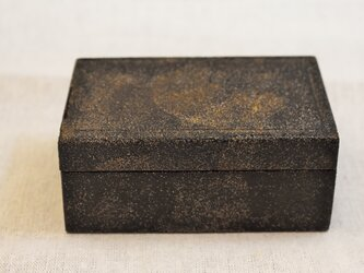 豆箱 白石目黒漆研出の画像