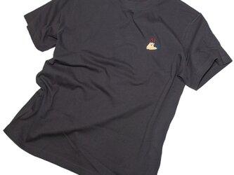 父の日のギフトに!カピバラ温泉 刺しゅうTシャツ ユニセックスS〜XL、レディースS〜L Tcollectorの画像