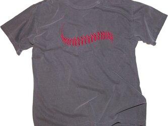 父の日のギフトに!野球のボール 刺しゅう Tシャツ ユニセックスS〜XLサイズ Tcollectorの画像