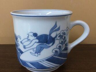 マグカップ(サーフィン日和)の画像