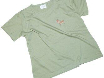 鹿鉛筆 ビッグシルエットTシャツ レディース フリー Tcollectorの画像