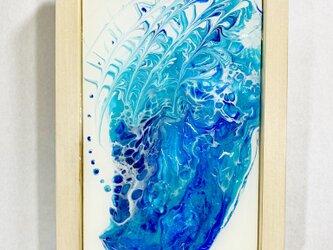 (青#1)フルイドアートクラフト・タブローの画像