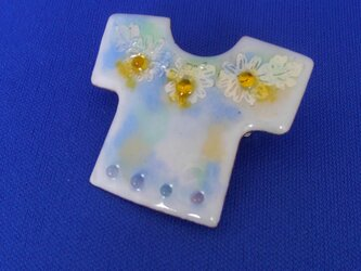 Tシャツブローチ 小花の画像