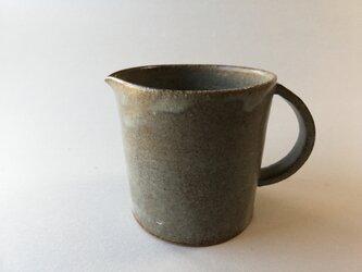マット灰釉コーヒーピッチャーの画像