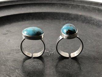 Turquoise ring /フリーサイズの画像