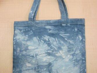 タイダイ染め ブルーがとてもさわやか‼トートバッグ No.1の画像