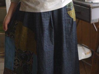 絣からギャザースカートの画像