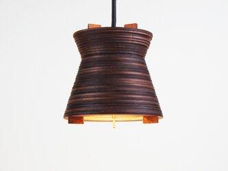 「ペイル」木製ペンダントライトの画像
