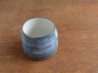 インディゴ 焼酎カップの画像