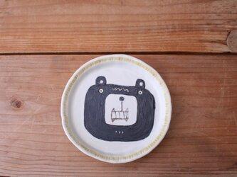 クマの小皿の画像
