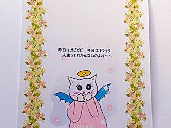 ネコ天使の選べる2種セットカードの画像