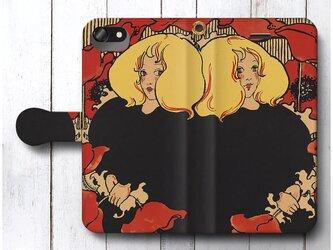 【エセル リード アラベラとアラミンタの物語】スマホケース手帳型 全機種 対応 絵画 人気 プレゼント iPhoneXRの画像