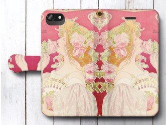 【アンリ プリヴァ リヴモン ケルンの香水】スマホケース手帳型 全機種対応 絵画 人気 プレゼント iPhoneXRの画像