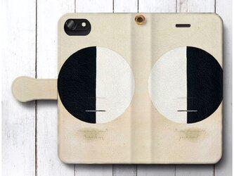 【ヒルマ アフ クリント No 3a】スマホケース手帳型 全機種 対応 絵画 人気 プレゼント iPhoneXRの画像