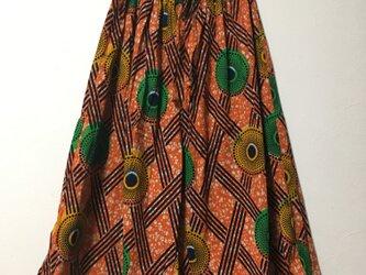 アフリカンバティックフレアパンツの画像