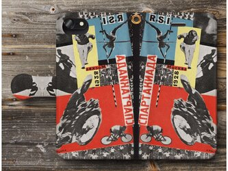 【クルーツィス スパルタキアーダ ポスターカード1】スマホケース手帳型 全機種 対応 絵画 人気 プレゼント iPhoneXRの画像