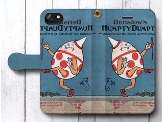 【ハンプティダンプティ】スマホケース手帳型 全機種 対応 絵画 人気 プレゼント iPhoneXRの画像