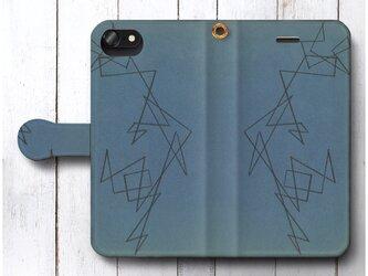 【アレクサンドル ロトチェンコ Untitled3】スマホケース手帳型 全機種 対応 絵画 人気 プレゼント iPhoneXRの画像