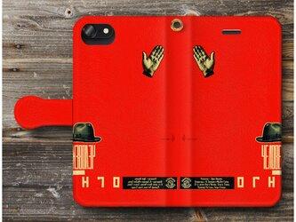 【ロトチェンコ ソヴィエトのプロパガンダ ポスター】スマホケース手帳型 全機種 対応 絵画 人気 プレゼント iPhoneXRの画像