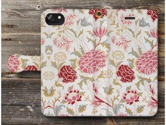 【ウィリアムモリス17】スマホケース手帳型 全機種対応 絵画 人気 プレゼント iPhoneXRの画像