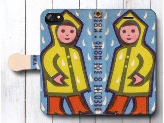 【レトロポスター チェコ 北欧 】スマホケース手帳型 全機種 対応 絵画 人気 プレゼント iPhoneXRの画像