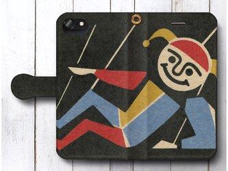 【アンティーク マッチボックス 北欧デザイン レトロ】スマホケース手帳型 全機種 対応 絵画 人気 プレゼント iPhoneXRの画像