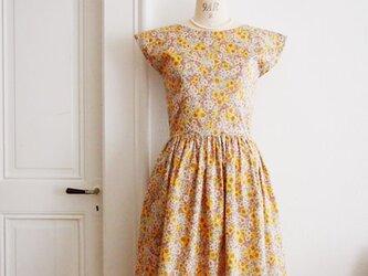 Liberty:Groria flowers フィット&フレア クラシカルドレスの画像