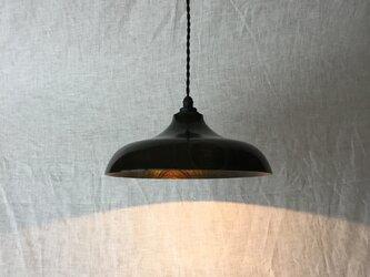 木と漆のランプ E26 (ks19)の画像
