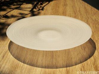 無色透明ガラスの器 -「 The Vessel of Light - 月明かりの器 」● 直径18cmの画像