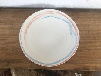 plate シンプルな皿 練り上げの画像