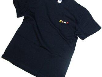 父の日のギフトに!キャンプ 刺しゅう Tシャツ ユニセックスS〜XL、レディースS〜L Tcollectorの画像