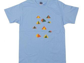 父の日のギフトに!キャンプ プリントTシャツ ユニセックスS〜XL、レディースS〜L Tcollectorの画像