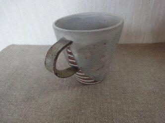 彩泥色絵マグカップの画像