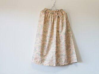 ☆紬着物スカート☆/31ks35の画像