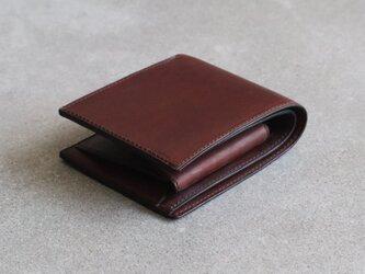 二つ折り財布 / Chocolateの画像